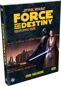 Fantasy Flight Games' Star Wars Force and Destiny Core Rulebook